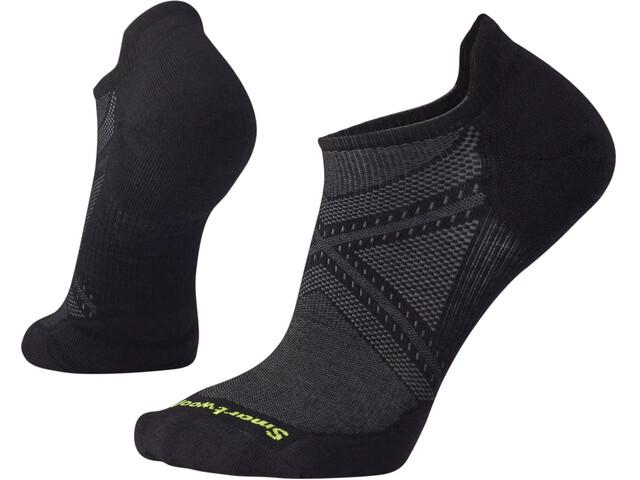 Smartwool Run Targeted Cushion Low Ankle Socks, zwart